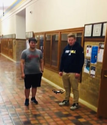 Drone Debuts in the Halls of MHS