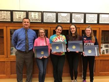 MHS Students Receive President's Volunteer Service Award
