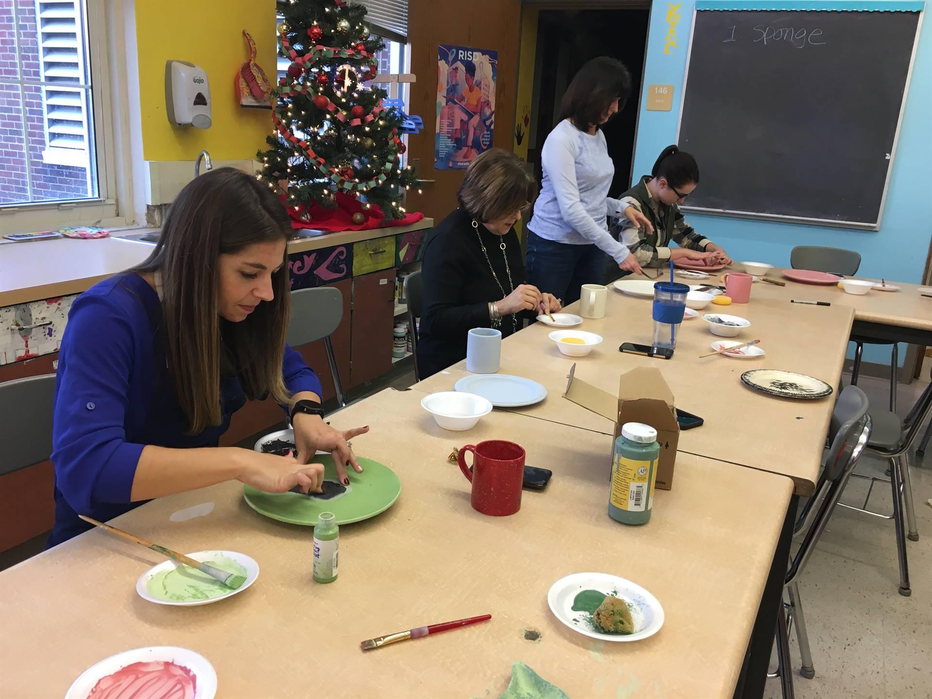 Teachers Time Out Ceramics Class