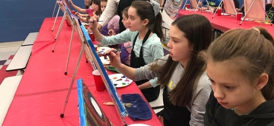 Elementary Sip and Paint