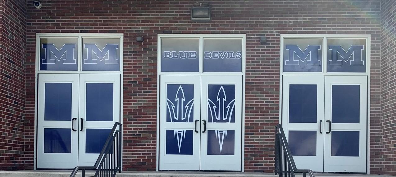 Gymnasium Door