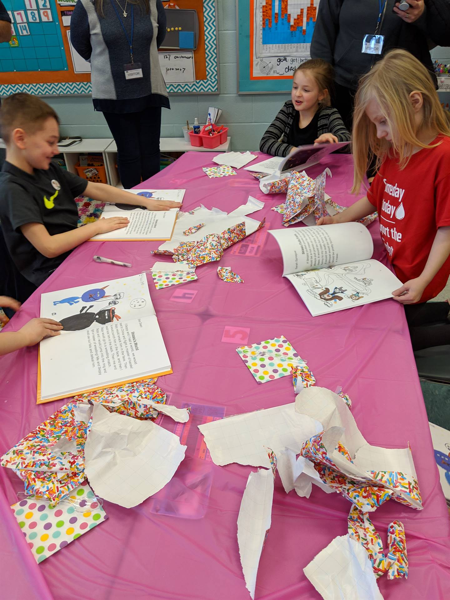2nd Graders Publish Book