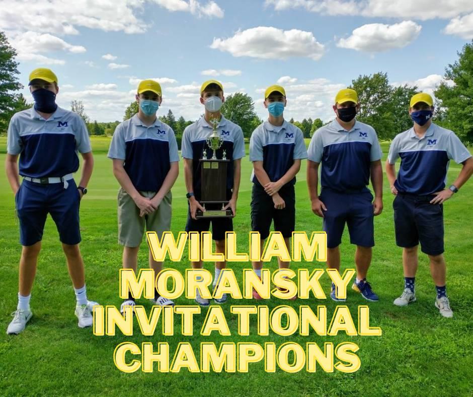 Golf team (Moransky Invitational Champions)