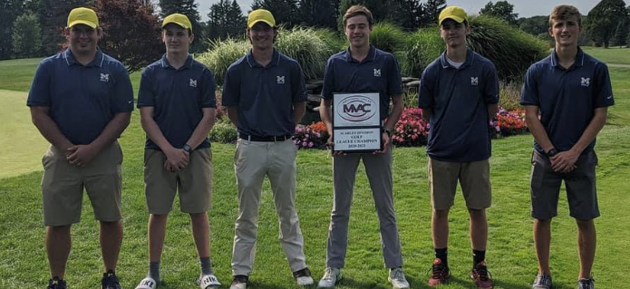 Golf MVAC Champs