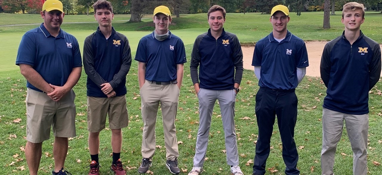 Golf Team at District Tournament